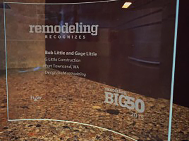 G. Little Construction Honored with Big50 Award